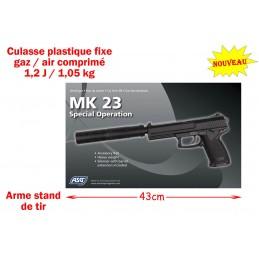 PISTOLET SILENCE MK23 GAZ /...