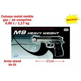 PISTOLET M9 METAL GAZ / AIR...