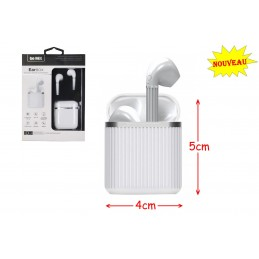 ECOUTEURS EARBOX BLANC