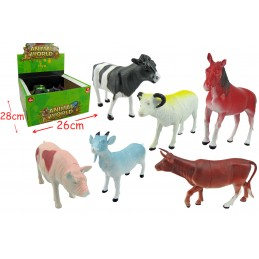 LOT DE 12 ANIMAUX DE LA FERME