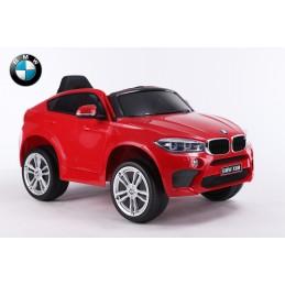 BMW X6 ELECTRIQUE - ROUGE