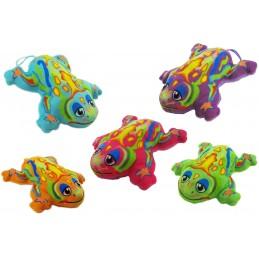 Grenouille en peluche existe en 5 coloris