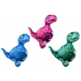 Peluche dinosaure imprimé existe en 3 coloris.