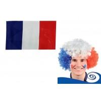 Articles & Accessoires Bleu, Blanc, Rouge Kit de Supporter - Forestore